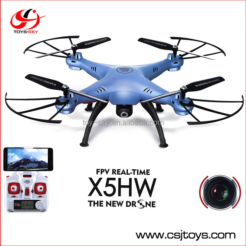 New Product Syma x5sw Upgrade X5HW 2.4G High hold mode with HD camera Wifi FPV RC Drone