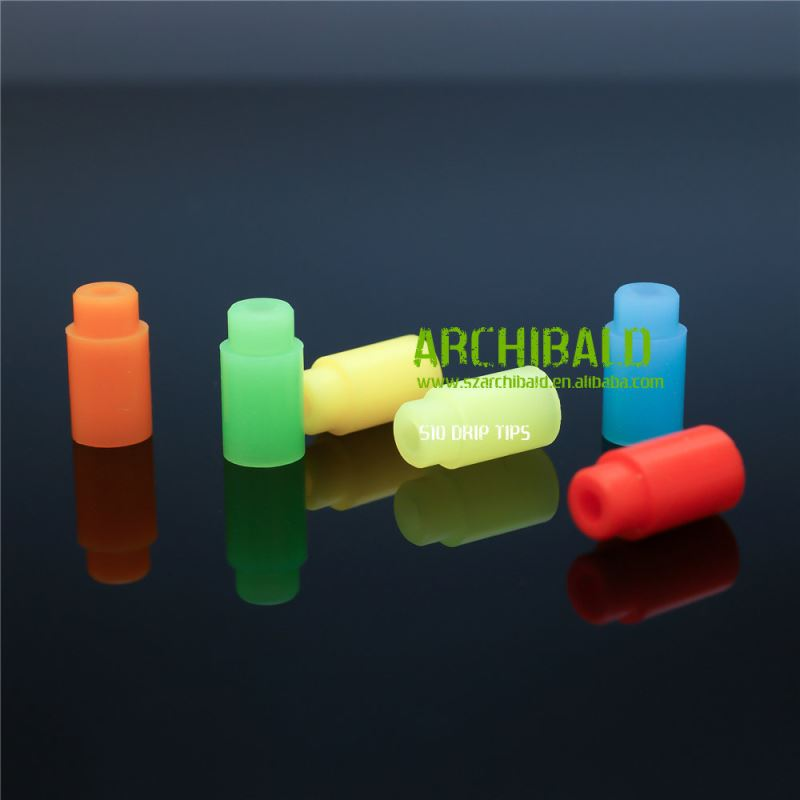 Hot Selling 510 vaporizer rebuildable wax dab ceramic atomizer Alien RDA 510 silicone drip tip