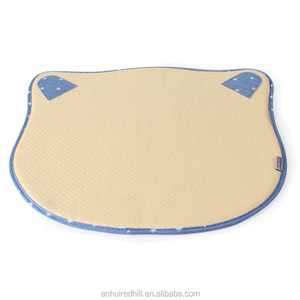R1853H 3-piceses comfortable cat head shape pet bed dog cushion pet mat summer cool mat for dog