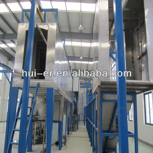 spraying pretreatment for painting line