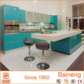 New Model Plastic Kitchen Cabinets Made In China With Good Cabinet