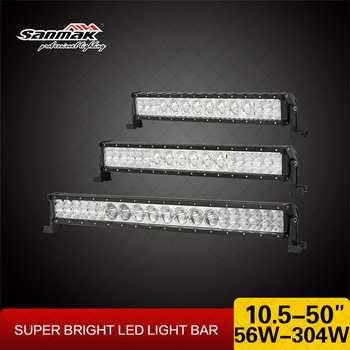 CREE 10W 3W in One Light Bar Single Row Double Row LED Light Bar for Offroad