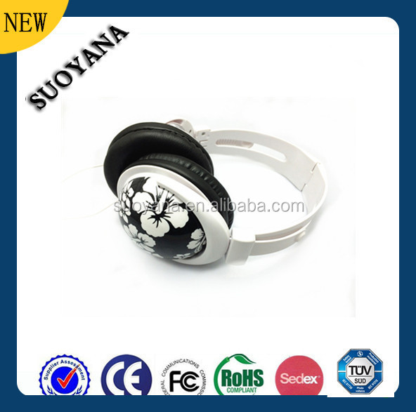 New Products On China Market Colorful Hd Headphone