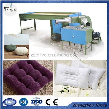 Hot Sell Fiber Ball And Fill Pillow Core Machine/sofa Cushion Filling  Machine/toys
