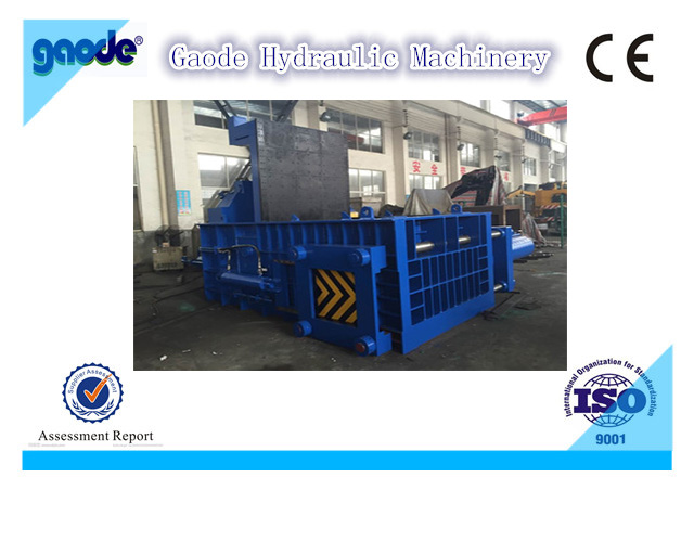 automatic hydraulic metal scrap bailer