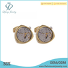 Antique gold cufflinks for men,engravable cufflinks jewelry