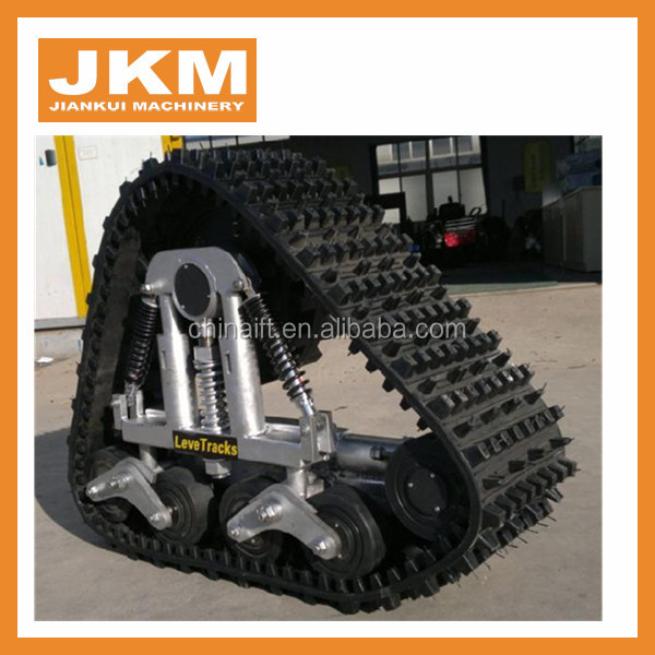 rubber track conversion system and rubber crawler track system in stock for sale