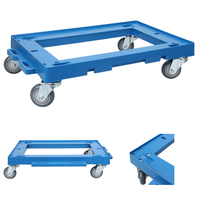 portable plastic pallet tool trolleys