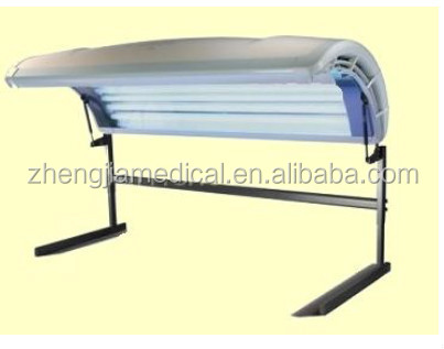 Zhengjia vertivcal type tanning bed solarium with 16pcs canopy l&s : tanning canopy - memphite.com