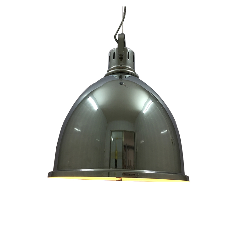 Multi vintage pendant lamp with metal lamp shade