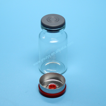Shandong Pharmaceutical Glass Vial with Cap and Rubber Stopper