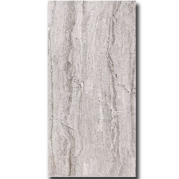 Cheap porcelain matt finish floor tiles 600x600mm travertine pattern tile