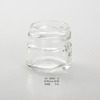 wholesale high quality cylindrical clear glass perfume bottle