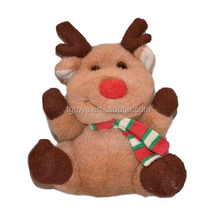Promotion mini elf Christmas gift moose plush toys