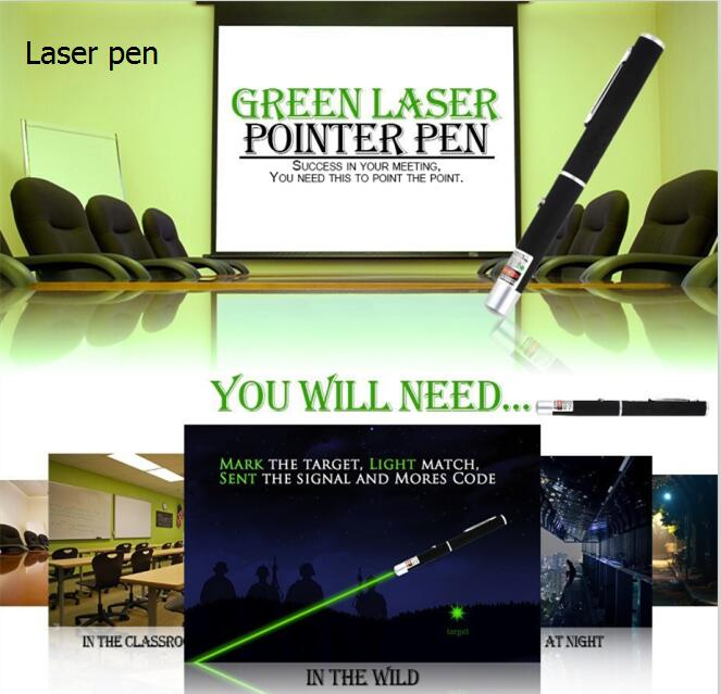 Hot Sale 10Miles 5mw 650nm Grade Visible Light Beam Red Laser Pointer Pen Ray teach laser pen