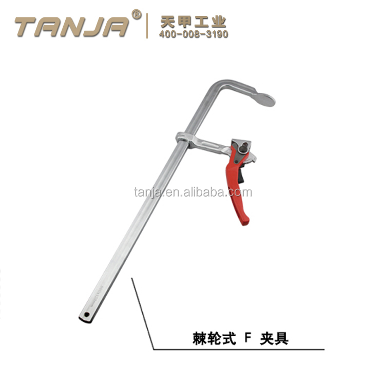 TANJA FJ0816 Hand Screw Digging Tools wood working F type clamp