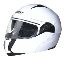 New DOT flip-up helmet motorcycle helmet WLT-168 white helmet
