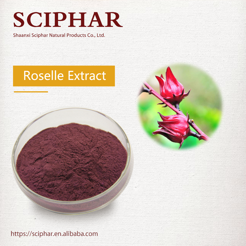 Dried Hibiscus Flowers Extracthibiscus Sabdariffa Extract Powder