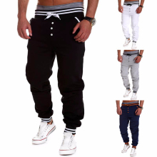 Harem Pants New Style Fashion 2015 Casual Skinny Sweatpants Sport Pants Trousers Drop Crotch Jogging Pants Men Joggers Sarouel