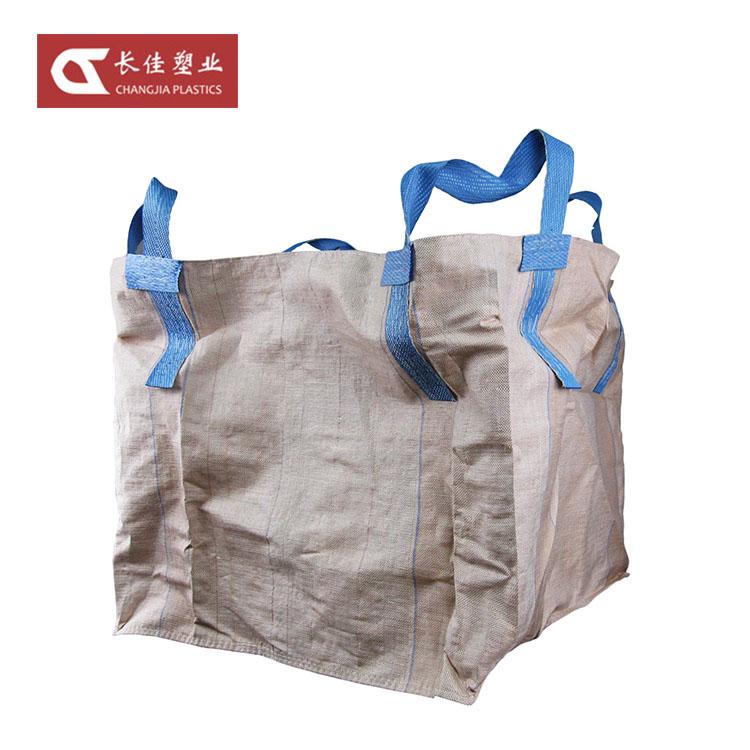 Seller Factory 1000Kg Waterproof Big PP Woven Ton Jumbo Bag