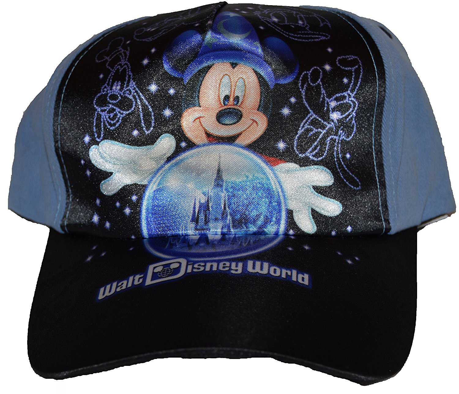 5c1d652f595 Get Quotations · Authentic Disney Hat Baseball Cap for Boys Mickey Mouse  Sorcerer