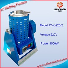 JC Advanced Tilting Rotary Crucible Furnace with one crucible