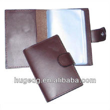Novelty cheap two folds business card holders