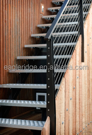 Good Metal Straight Staircase, Metal Straight Staircase Suppliers And  Manufacturers At Alibaba.com