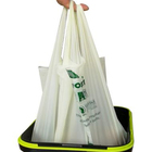 cornsatarch made eco friendly garbage bag biodegradable with tie string