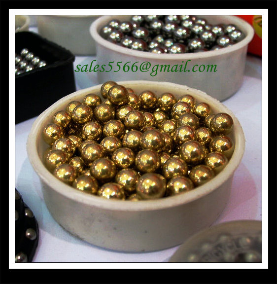 Good quality solid copper coated steel ball