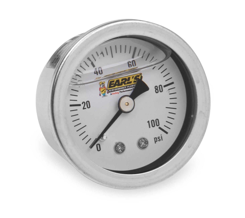 Earls AT9919AUJERL Earl/'s GM LS Oil Pressure Gauge Adapter Fittings Black