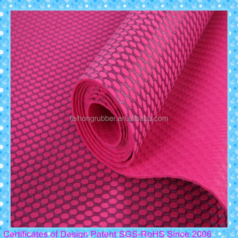 2mm children natural yoga mat natural rubber