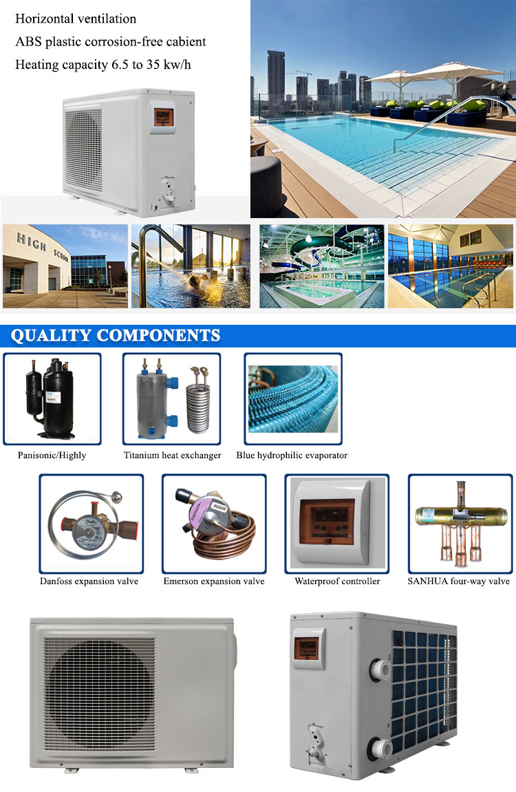 Altaqua 6kw/h swimming pool heat pump spa heater