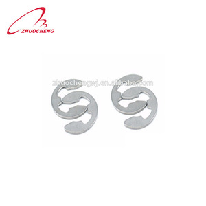 High Quality DIN6799 Stainless Steel E Type Snap ISO Spring Steel Retaining Snap E-Clip Lock Washer