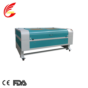 SHENHUI 100 watts laser cutter with water chiller exhaust fans