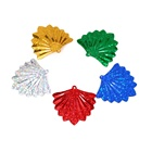fan shaped crafts sequins parties decoration christmas sequins