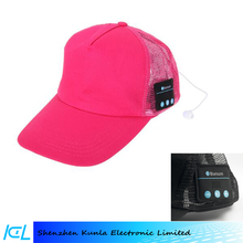 Bluetooth Baseball cap with Built-in Speaker Headphone and Handsfree Talking