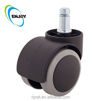 Factory PU Rubber Office Chair Wheels Silicone Furniture Caster