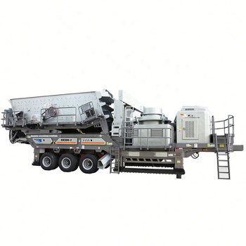 Made in China mobile stone crushing plant price for sale