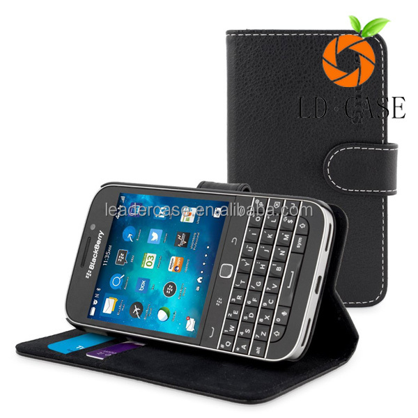For blackberry priv wallet case with card,high quality leather phone case for blackberry priv