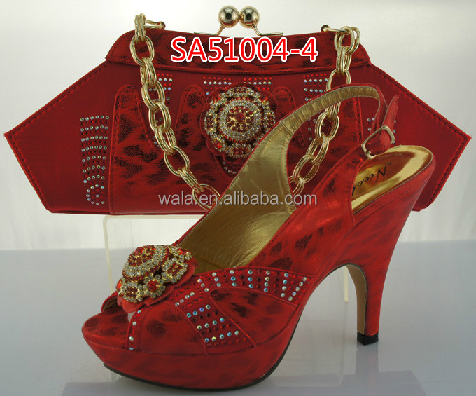 party nigeria yellow shoes and and high italian 5 set heel bag high bag shoes quality SA51004 1rdwBtdx