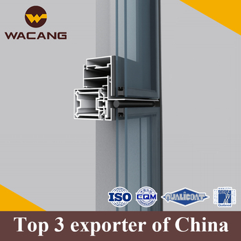 Top Quality Aluminium Curtain Wall Profiles/glass Partition Wall