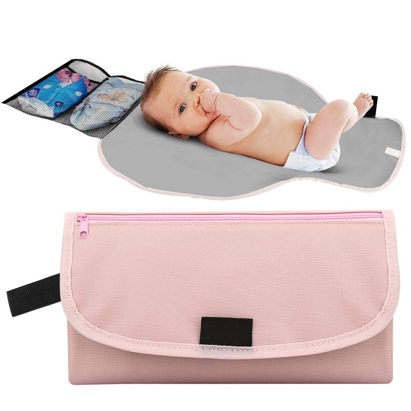 3 in 1 Foldable Portable Baby Diaper Mat Changing Pad Clutch Station Journey New