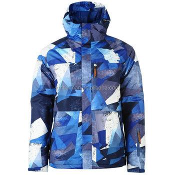 185c582770035 No Fear Park Ski Jacket Mens Blue Skiwear Camo Ski Jacket - Buy ...