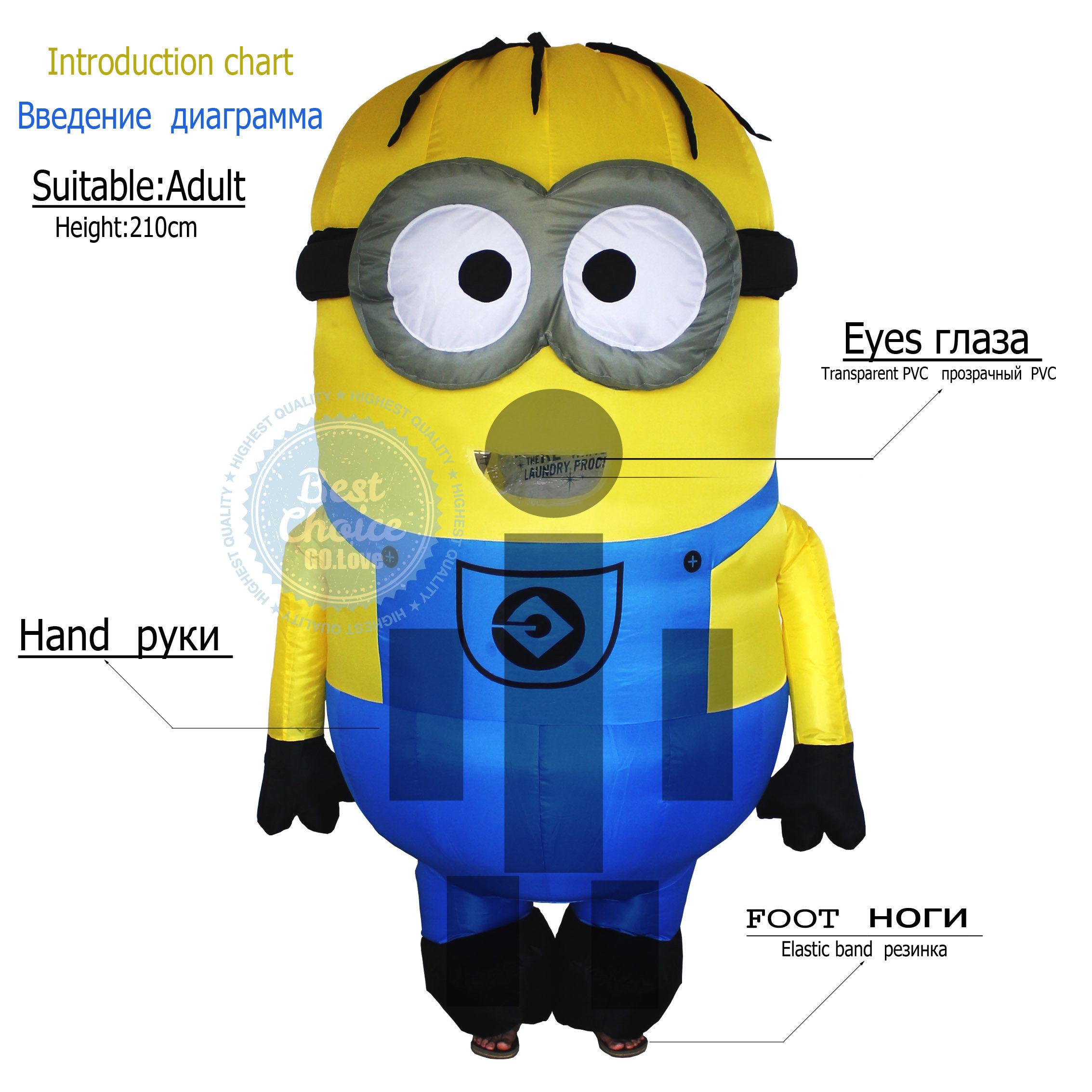 getSubject() World Debut 2015 NEW Despicable Me Inflatable Suit Minions fancy suit ...  sc 1 st  CsakAShop & World Debut 2015 NEW Despicable Me Inflatable Suit Minions fancy ...
