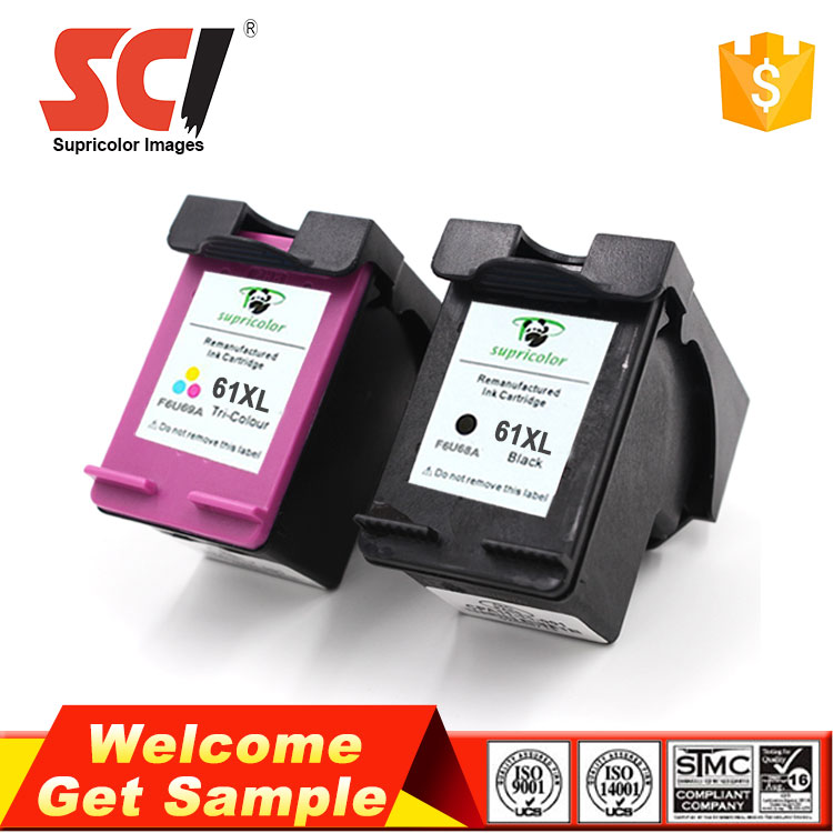 2017 New 1050 1010 61 61XL compatible for HP printer ink cartridges