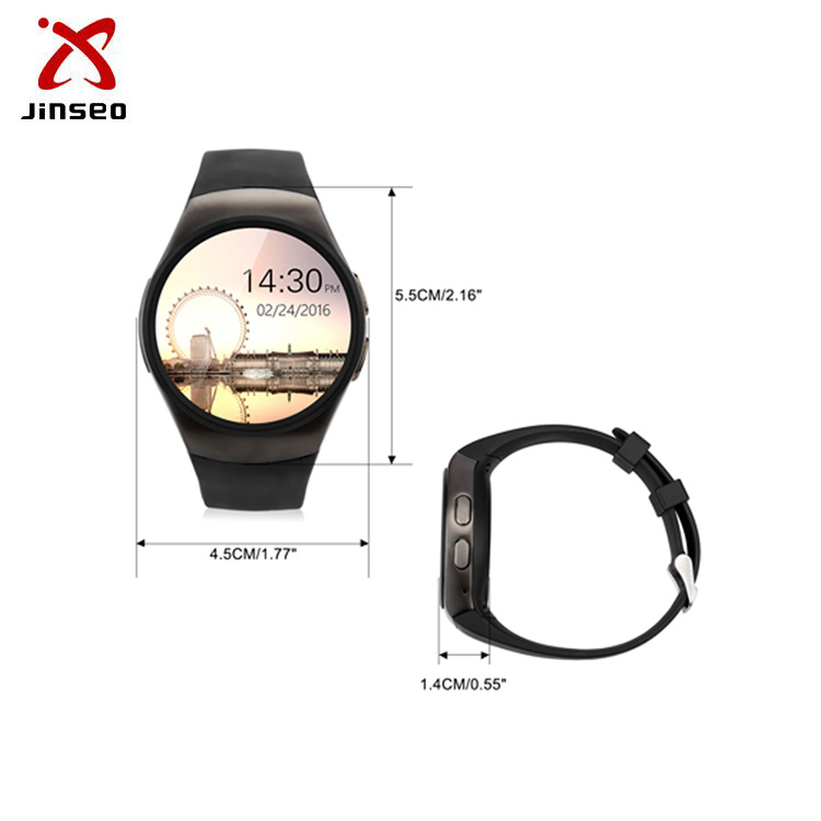 Top Selling Touch Screen with Camera and SIM Card KW18 Smart Watch