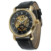 Winner hollow men's automatic mechanical watch male mechanical watch calendar