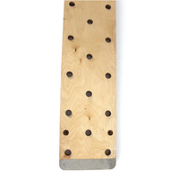 Fitness Gym Wall Mounted Wooden Climbing Peg Board