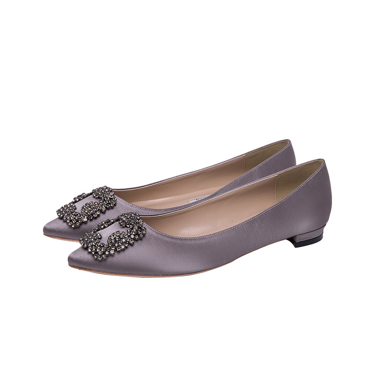 Elegant Silk 2017 Fashionable Rhinestone Women Pumps Girls Low Shoes Footwear Wholesale qtCta8